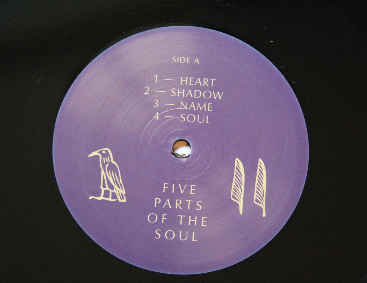 Kae - Five parts of the soul -chill soul electronic music vinyl