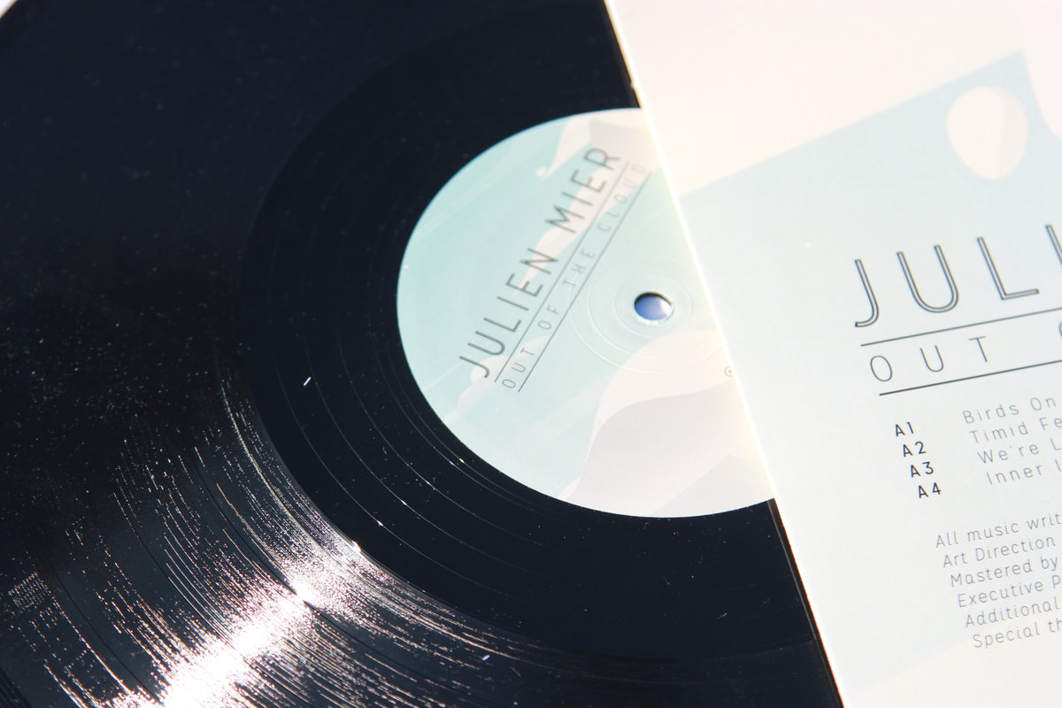 Julien Mier - Out Of The Cloud Chillout electronic ambiant beats Vinyl
