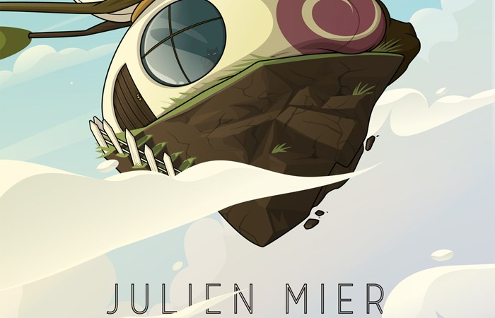 Julien Mier - Out Of The Cloud Chillout electronic ambiant beats