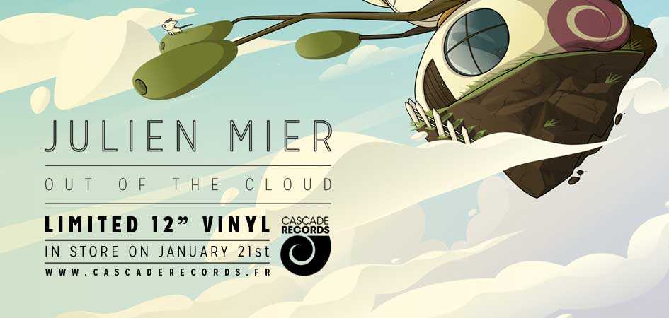 Julien Mier Out Of The Cloud - electronic soul hip hop