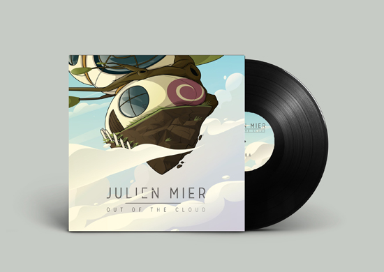 Julien Mier - Out Of The Cloud - vinyl - electronic, chillout, ambiant,  hip hop beats, music