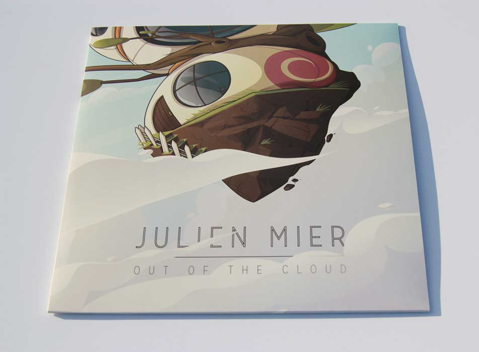 Julien Mier - Out Of The Clouds - cover vinyl electronic house music beats bass