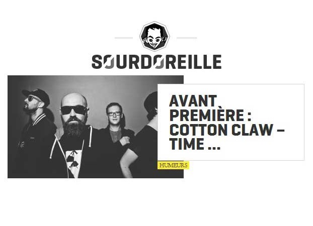Sourdoreille Premiere : Cotton Claw - Time Trial - electronic house club music dance