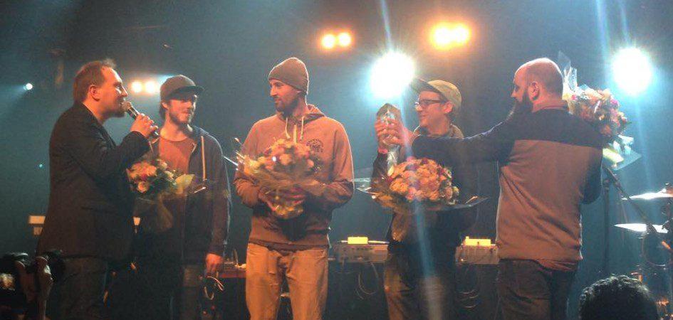 Cotton Claw lauréat du Prix Chorus 2015 au festival Chorus à La Défense