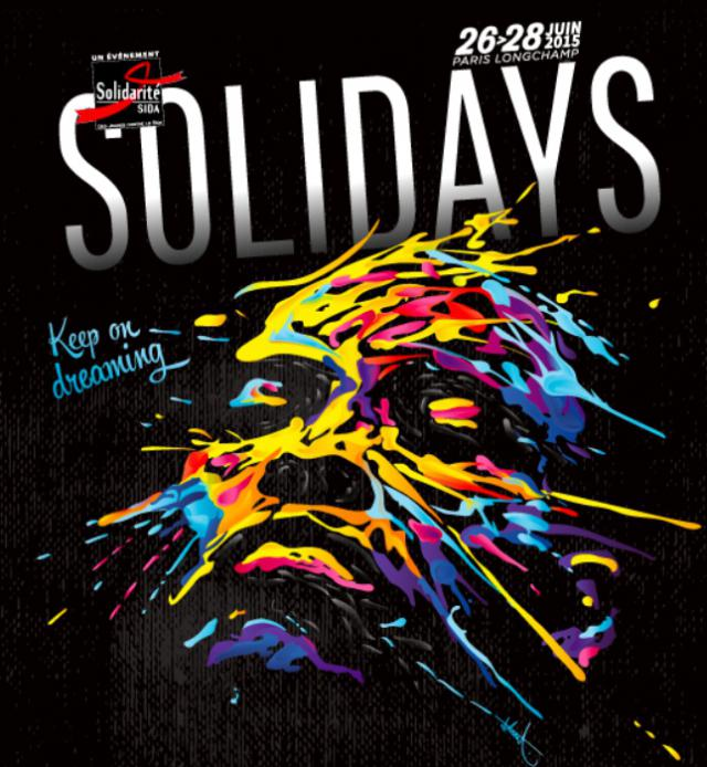 Solidays 2015 avec Cotton Claw, Rone, Caribou, The Avener