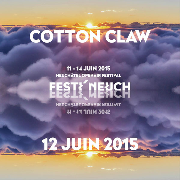 Cotton Claw au Festi'neuch electronic Music ambient house beats
