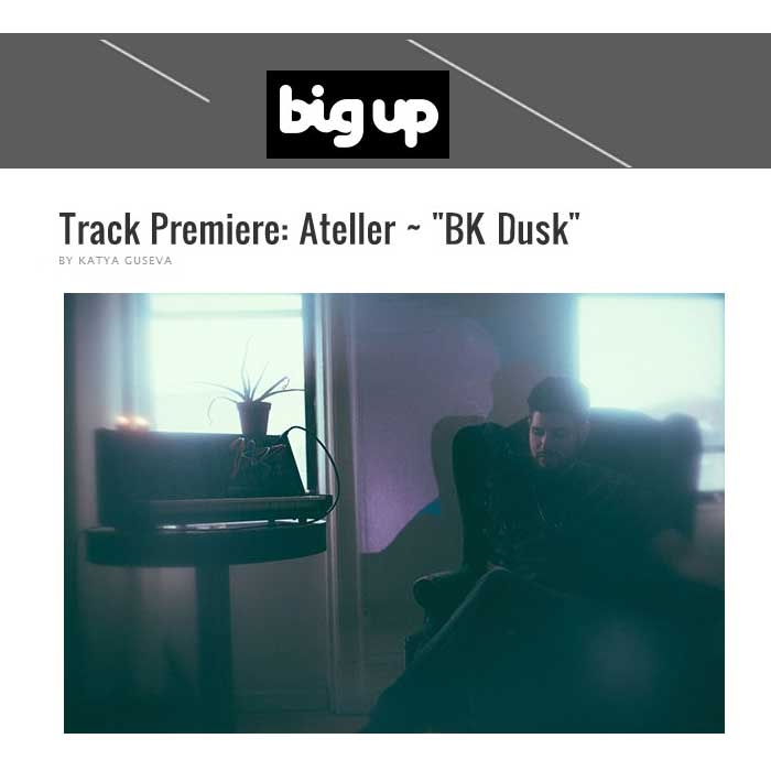 Big Up Premiere Track Ateller - Dance Music