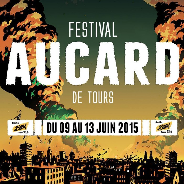 festival Aucard de Tours avec cotton claw - electronic music house beats