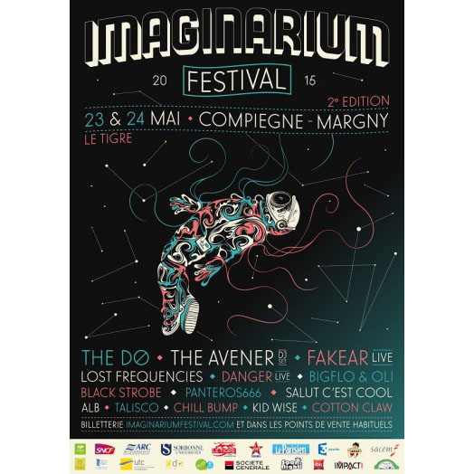 Cotton Claw @ Imaginarium Festival 2015 , The avener, The Dø, Lost Frequencies, Chili Bump, Black strobe, Cotton Claw, Fakear