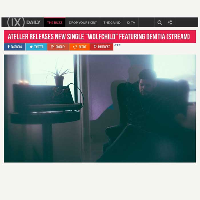 IX Daily - Ateller interview - electronic music hip hop beats
