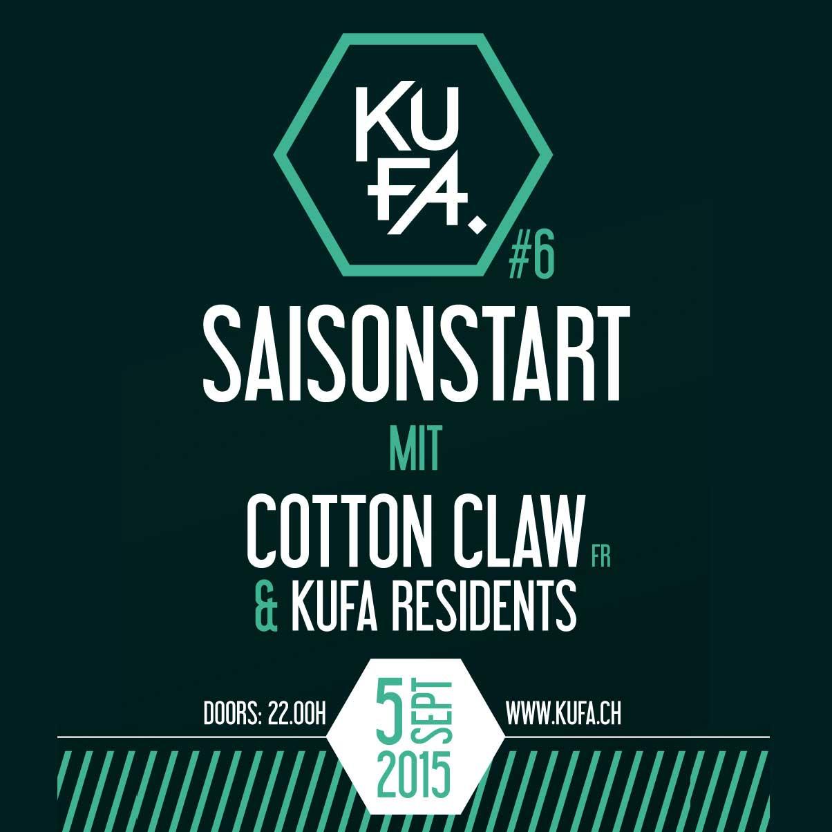 Cotton Claw at Kufa - electronic music house beats bearmaker