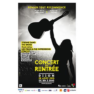CONCERT DE RENTRÉE 2015 - Présenté par La Ville de Dijon - music