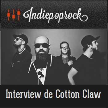 Indiepoprock interview Cotton Claw - house electro bass beats music