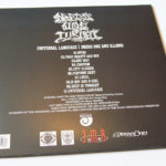 Dregs One & Ill Sugi - Universal Language LP vinyl Back cover - rap & Hip Hop