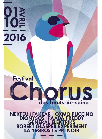 festival Chorus 2016 avec Fakear, Odezenne, Worakls Band, Joachim Pastor, Thylacine, Aucan, Cotton Claw, Stamp