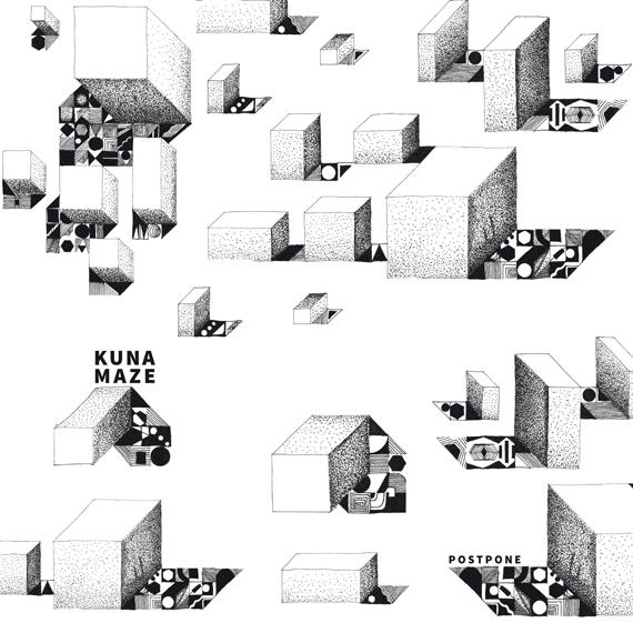 Kuna Maze - Postpone Ep - hip hop beats jazzy electronic music