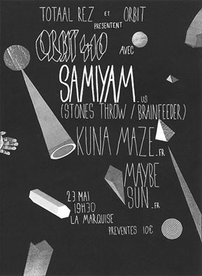 Samiyam live Lyon with Kuna Maze - Stones Throw - hip hop beats Muisc