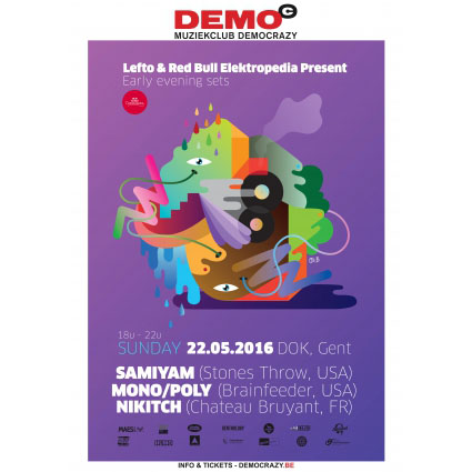 Lefto & Red Bull Elektropedia present: Nikitch, Mono/Poly, Samiyam