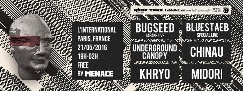 Menace présente Bugseed en concert à Paris