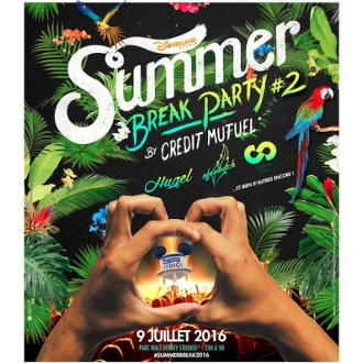 La Summer Break Party by Crédit Mutuel à Disneyland vous attend le 9 juillet ! cotton claw
