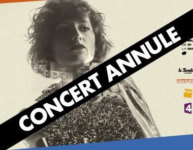 Annulation de la Fête de la Musique Place Denfert-Rochereau 2016 - Radio Elvis, Cotton Claw