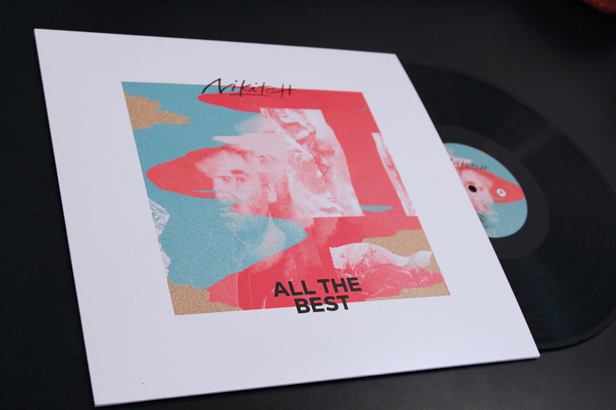"""Nikitch - New EP """"All The Best"""" - electronic music, footwork, trap, hip hop Vinyl"""