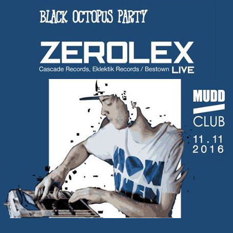 Black Octopus w/ Zerolex Live & Ficus at Mudd Club, strasbourg - beats, electronic music futur hip hop
