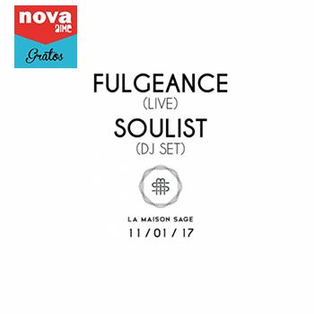 Nova Aime : Fulgeance + Soulist en live à la Maison Sage - Paris