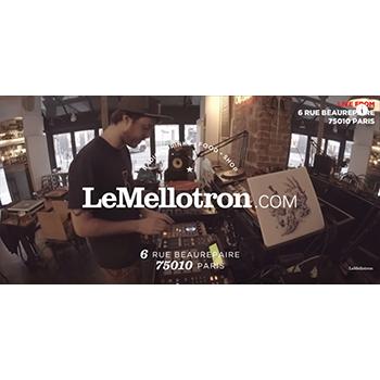 Video Le Mellotron : Zerolex • SP404 & MPC Live Set - Beatmaker - chill electro musique music hip hop