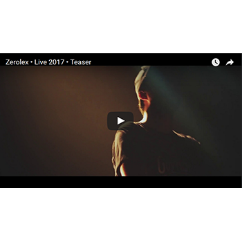 Video : Zerolex • Live 2017 • Teaser | electro music - Cascade Records - l'autre canal Nancy