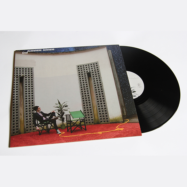 Cvd debut album ' elsewhere nowhere ' jazz electronic chill music vinyl edition