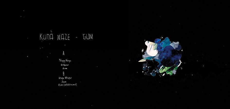 Kuna maze - Gum EP - chill electronic music broken beats hip hop instrumenta jazzl