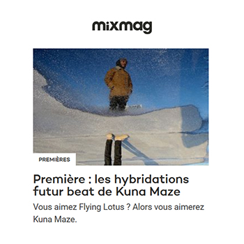 French producer Kuna Maze Share Full Stream of Gum EP on Mixmag. His music oscillates between electronica, hip hop and jazz experimental