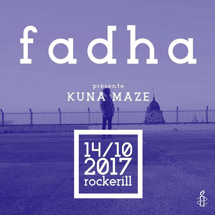 Le Festival des Arts pour les droits humains d'Amnesty International ( Festival FADHA 2017) est un festival alternatif d'arts contemporains