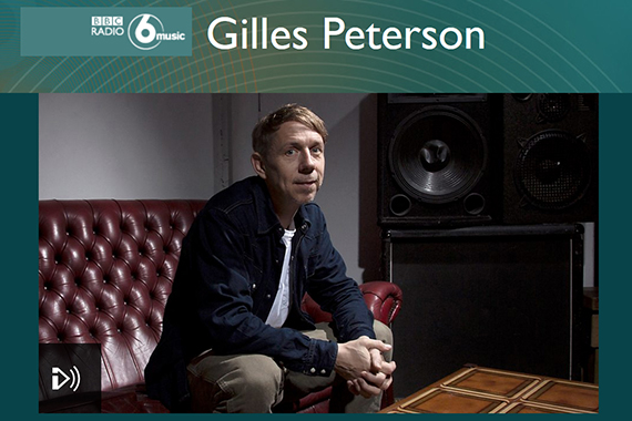 Gilles Peterson selected VECT's track on BBC 6 Music - Disco funk electro chill music