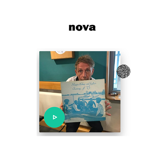 Fulgeance & VECT's new disco funk single 'Gifted' played on latest Gilles Peterson Worldwide radio show on radio Nova.
