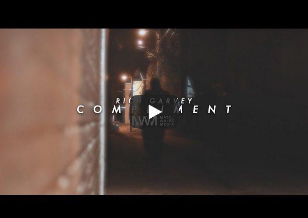 "Rich Garvey drops his new video for ""Compliment"", a sensual & soulful, lo-fi boom bap, rap track."