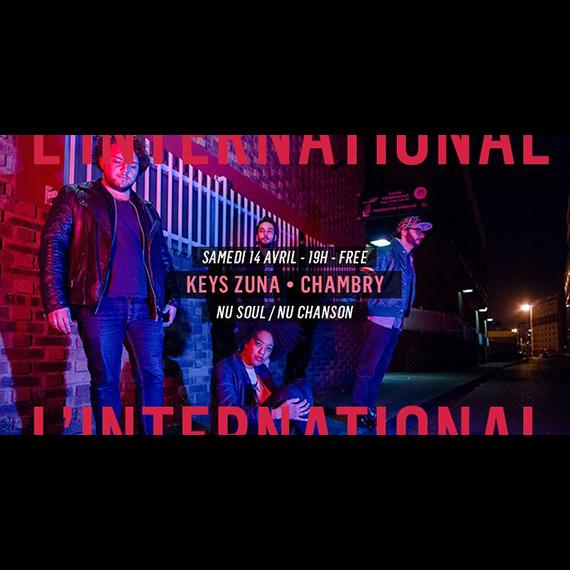 Keys Zuna • Chambry à l'International | Paris concert - Cascade Records