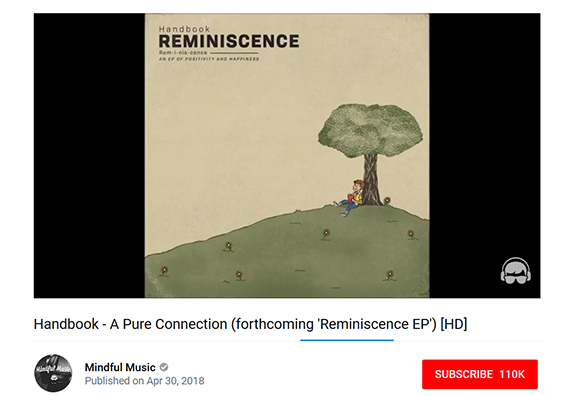 """Handbook's new track """"A Pure Connection"""" on Mindful Music 