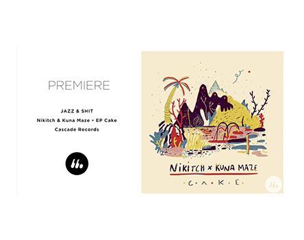Nikitch & Kuna maze share their new single Jazz & Shit on LeMellotron