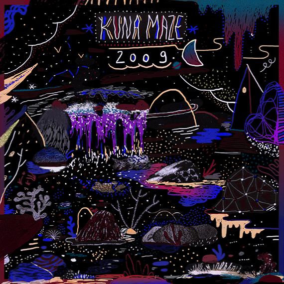 Kuna maze new EP 2009 cover- chill beats hip hop downtempo electro music