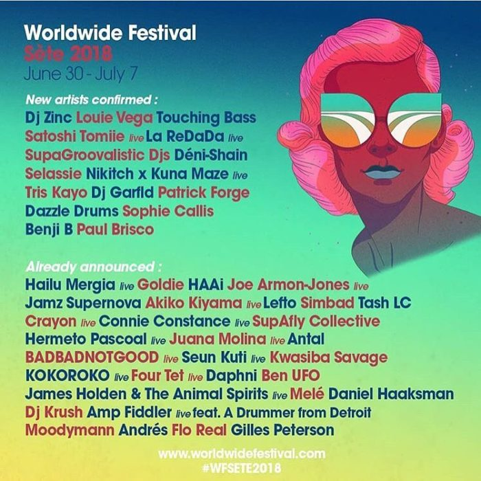 Gilles Peterson's Worldwide Festival - Sète 2018