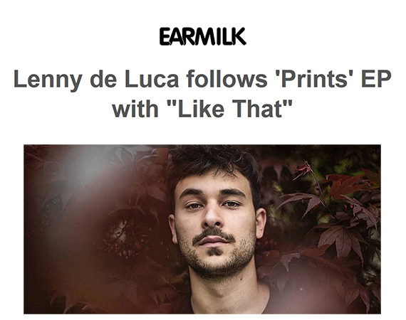 """Like That"" is out this week via French imprint Cascade Records, and is an ethereal expression of deeper soul and futuristic grooves. Earmilk"