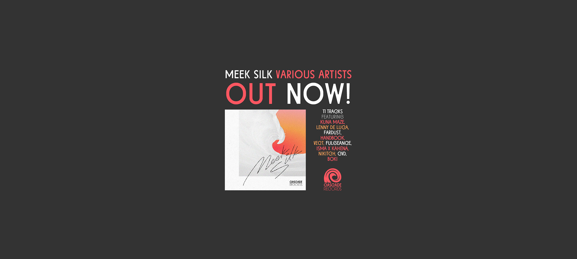 Various Artists - Meek Silk feat. Nikitch, Kuna Maze, Fulgeance, Lenny de Luca - chill electro music hip hop
