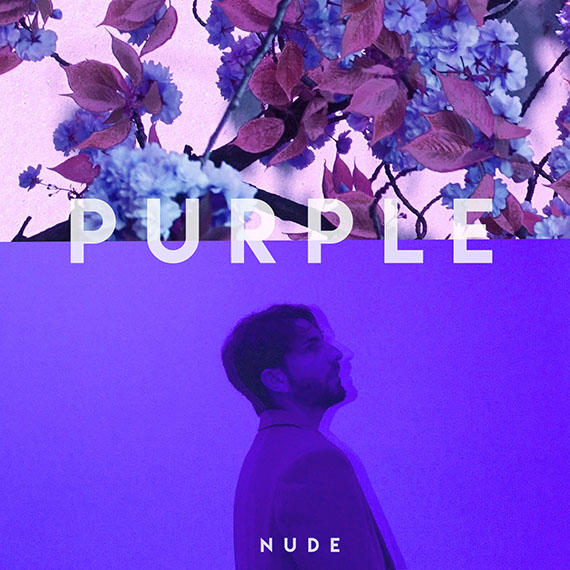 Nude debut album Purple r&b chill pop electro music