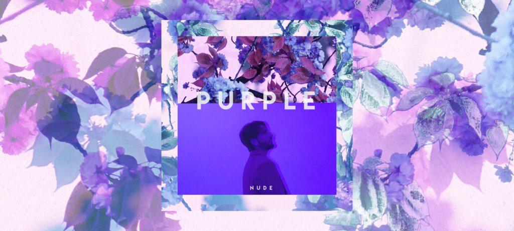 Nude debut album purple - hip hop, r&b and pop electronic music, future bass