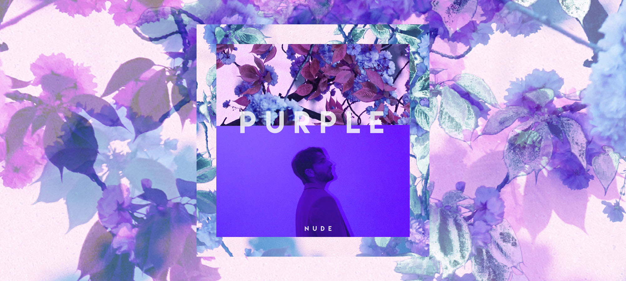 Nude debut album purple - hip hop, r&b and pop electronic music, future bass