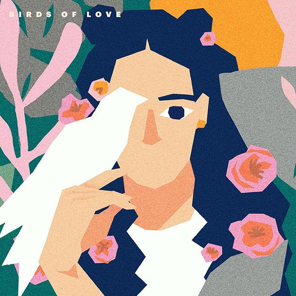HandBook - Birds Of love feat Violet Indigo - rnb soul hip hop jazz lofi